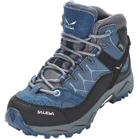 SALEWA Alp Trainer Mid GTX Zapatillas Niños, dark denim/charcoal